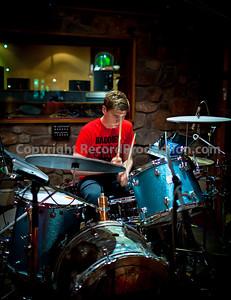 Baddies recording their new album with producer Sean Genockey in the studio