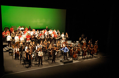 Katie Betts, DSO and the Australian Army Band, 27 March 2010
