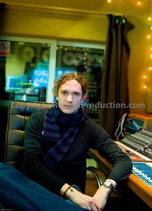 Dan Hawkins, musician (The Darkness), record producer and studio owner at Leeders Farm recording studios UK.