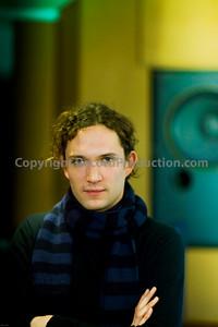 Dan Hawkins, musician, record producer and studio owner at Leeders Farm recording studios UK.