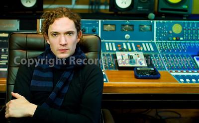 Dan Hawkins (The Darkness), musician, record producer and studio owner at Leeders Farm recording studios UK.