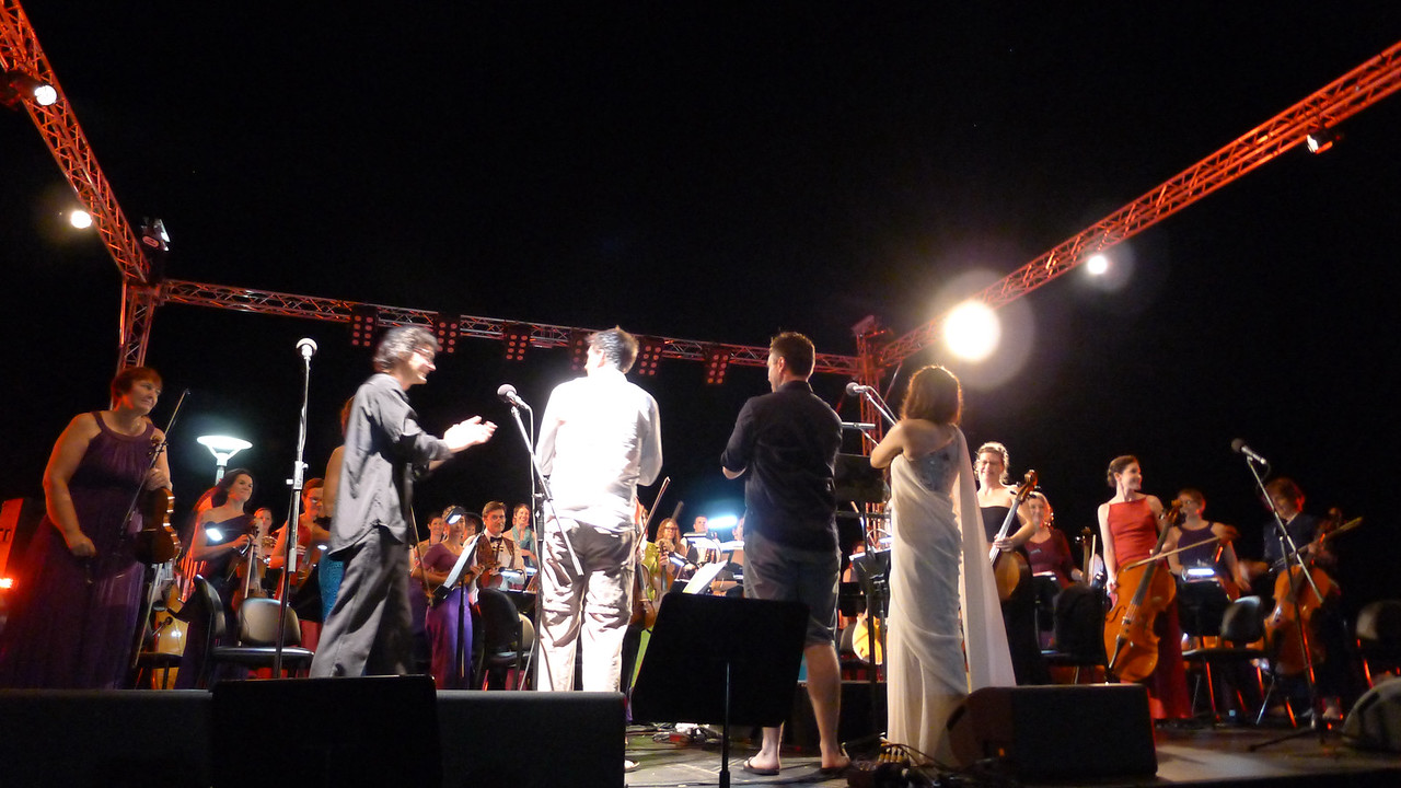 Opera Gala. Darwin Waterfront Precinct, May 2015