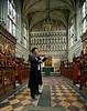Fuminori Shinozaki and Anthony Froggatt at Magdalan College Chapel Oxford University recording violin and organ