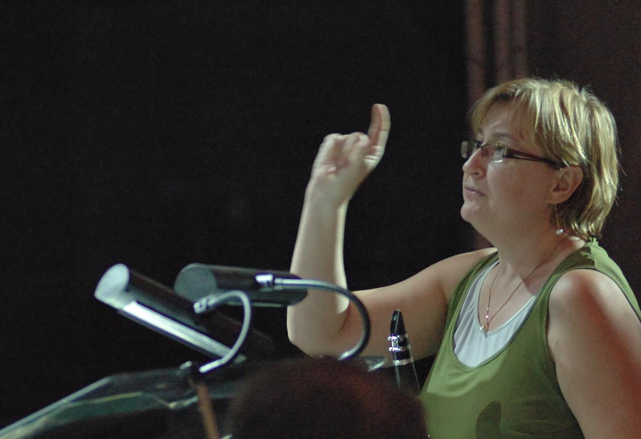 Lisa Jennings, Symphony by the Sea Rehearsal 20.06.08.