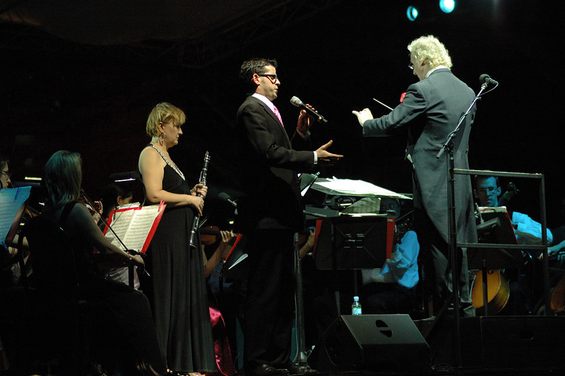 Lisa Jennings, Martin Jarvis and Dimitri Kopanakis, Symphony by the Sea 21 June 2008