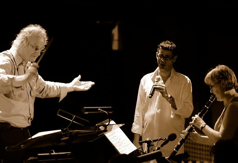 Lisa Jennings, Dimitri Kopanakis and Martin Jarvis, Symphony by the Sea Rehearsal 20.06.08.
