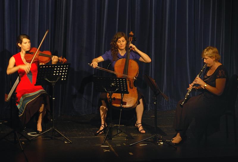 Lisa Jennings, Wilfred Lehmann, Rebecca Harris and Anastasia Coroneo, Fundraising Concert at CDU 2007