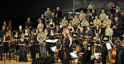 Poppies. DSO and Australian Army Band Darwin 2015