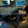 Mike Skinner - The Streets - Behind his SSL Duality mixing desk, UK.