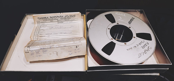 2 inch reel of tape