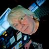 Nick Clarke, studio tech guru in front of Tom Rowland's SSL Duality mixing console.