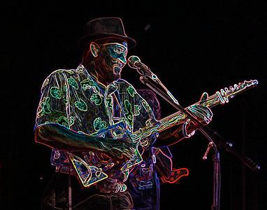 "James ""Super Chiken"" Johnson2007  Sunflower River Blues and Gospel Festival Clarksdale, Mississippi 2007"