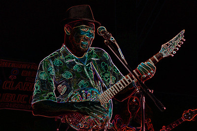 "James ""Super Chiken"" Johnson 2007 Sunflower River Blues and Gospel FestivalClarksdale, Mississippi 2007"