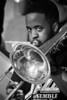 Trombonist, Howard University Jazz Ensemble, Westminster Presbyterian Church, Washington, DC, April 2013