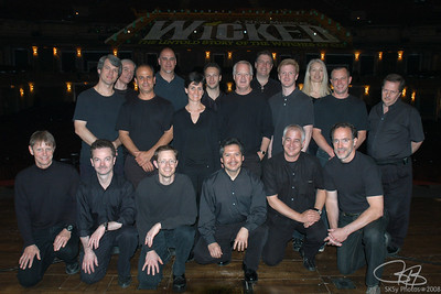 The Chicago WICKED orchestra, June 2007