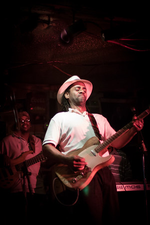Kenny Neal at Teddy's Juke Joint, Zachary, La. 2009