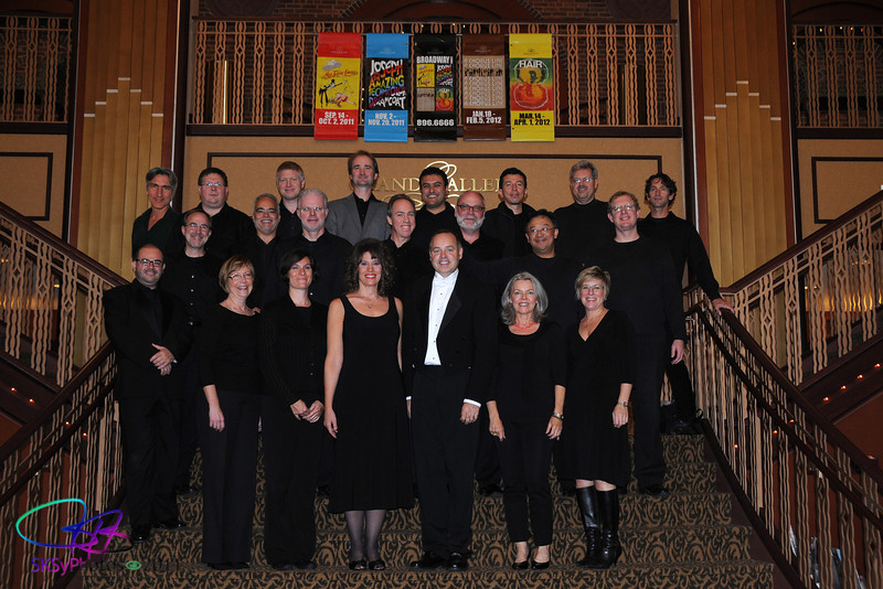 The My Fair Lady Orchestra.  Sept. 2011