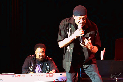 George Duke, Al Jarreau. Tough lighting, for sure.