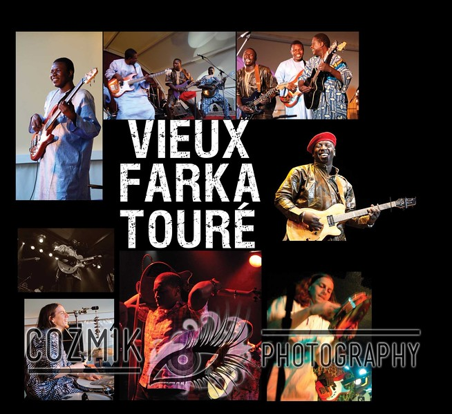 Vieux Farka Toure - Live album 2010 photo of Tim Keiper, bottom right - Six Degrees Records
