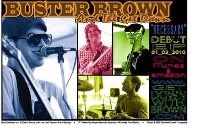 Buster Brown and the Get Down - band/website/studio/album photography 2008-2012 RELIX Magazine Jan. 2010