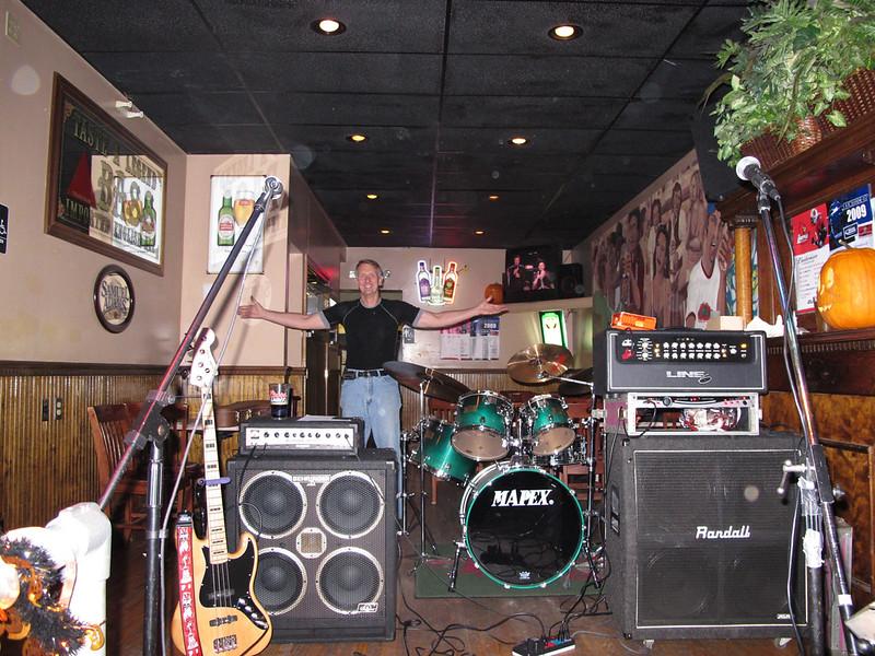 Boojum rocking showcase night at Bearno's