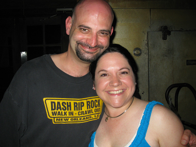 Ricky and Jenny (friend from highschool - the whole reason we had a venue for the gig.)