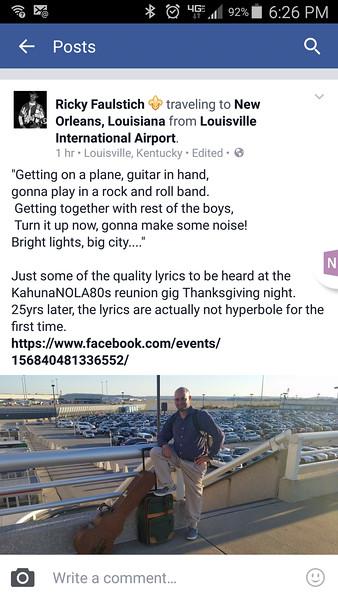 Kahuna 25yr Reunion and Thanksgiving 2015