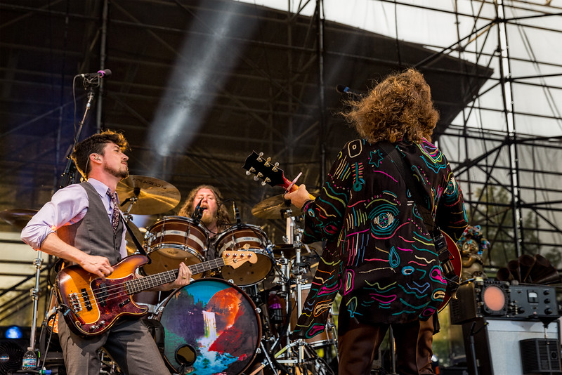 My Morning Jacket Waterfall Tour at the Farm Bureau Lawn at White River State Park in Indianapolis, Indiana May 26, 2016.