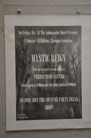 Mystic Reign 26 October 2012 Ambassador Hotel, Victorville