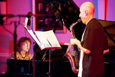 "Tom Bergeron and Diane Baxter perform ""Duo for Saxophone and Piano"" by Martin Blessinger"