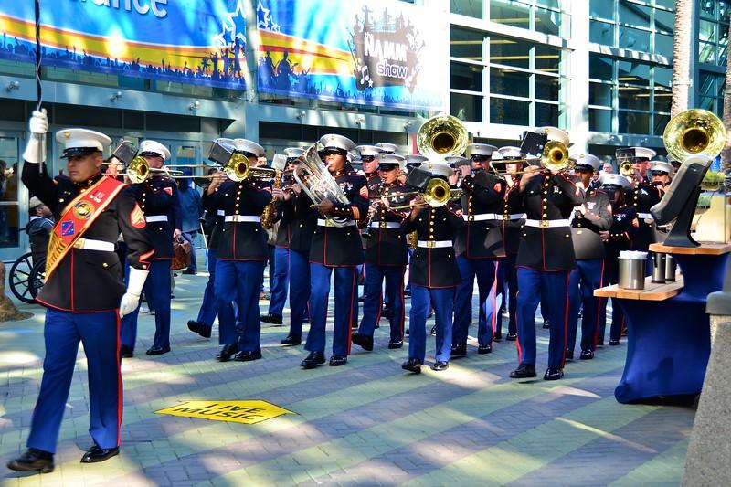 Marines Marching Band.