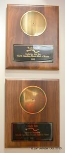 Rick Dees & Grady Tate plaques