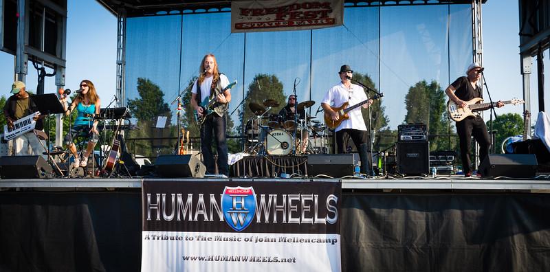 Human Wheels 31