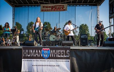 Human Wheels 4