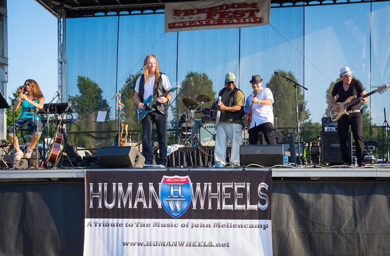 Human Wheels 32