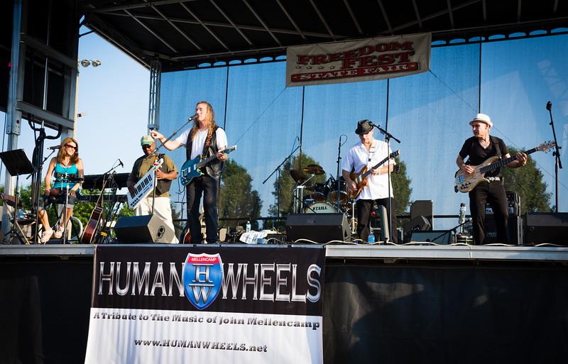 Human Wheels 35