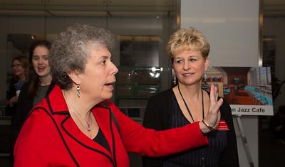 Susan Fruchter, Deputy Director, National Museum of American History; Maggie Webster, NMAH Associate Director for External Affairs