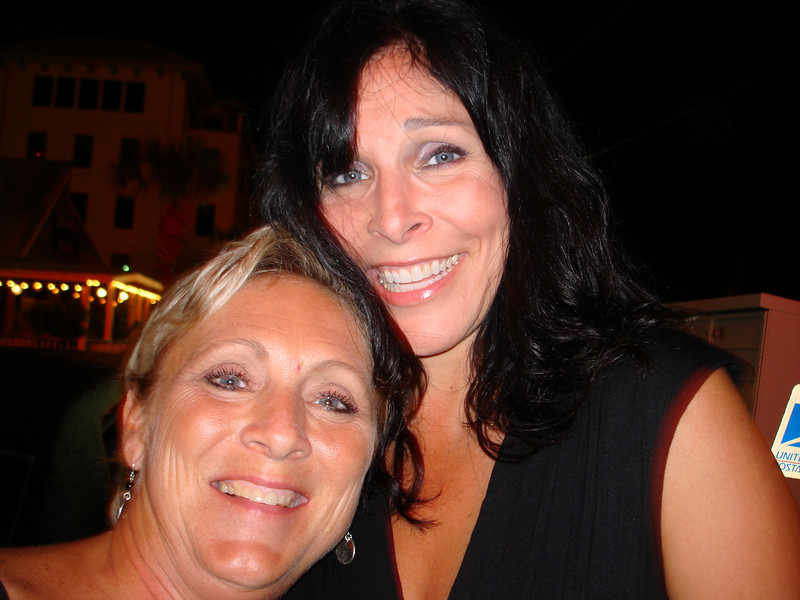 Me and Lisa before saying goodnight to wonderful new friends and a great night!