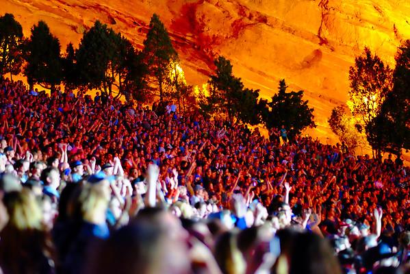 Needtobreathe Red Rocks 2015