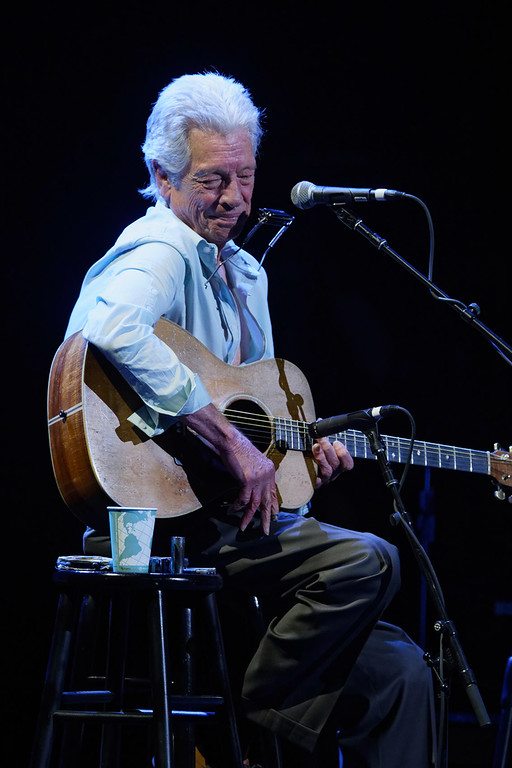 . John Hammond live at The Fox Theatre in  Detroit on 7-3-2018.  Photo credit: Ken Settle