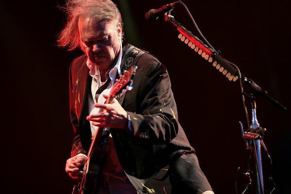 Neil Young @ Hop Farm, England, July 2008