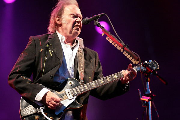 Neil Young @ Hop Farm, England, July 2008