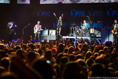 Neon Trees perform on December 8, 2012 during the Y100 Jingle Ball at BB&T Center in Sunrise, Florida