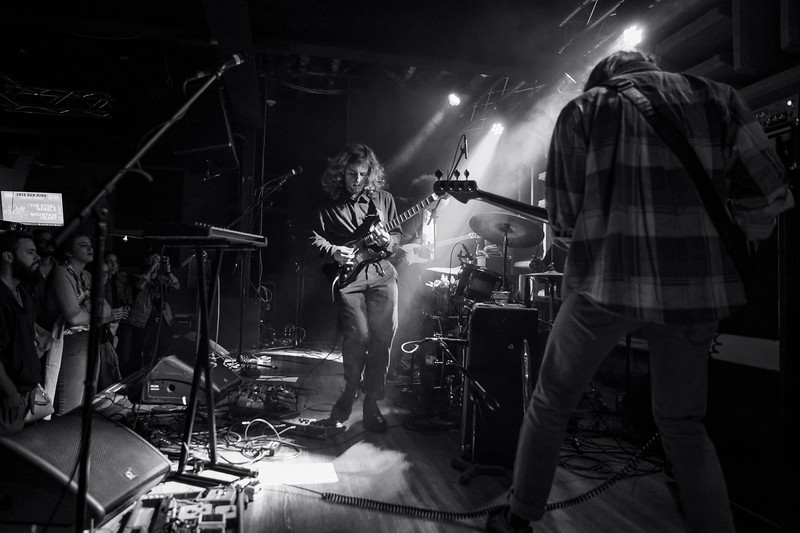 Sun King Brewery & MOKB Present New Madrid opening for Liz Cooper & the Stampede at the HI-FI on January 16th, 2019. Photo by Tony Vasquez.
