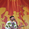 Big Chief Monk Boudreaux Voices of the Wetlands All Stars at Jazz Fest 2012<br /> Tab Benoit