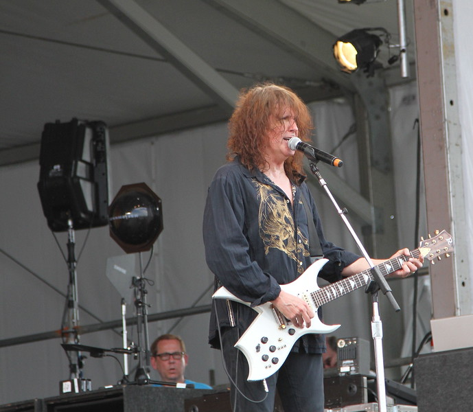 Randy at New Orleans Jazz Fest 2012