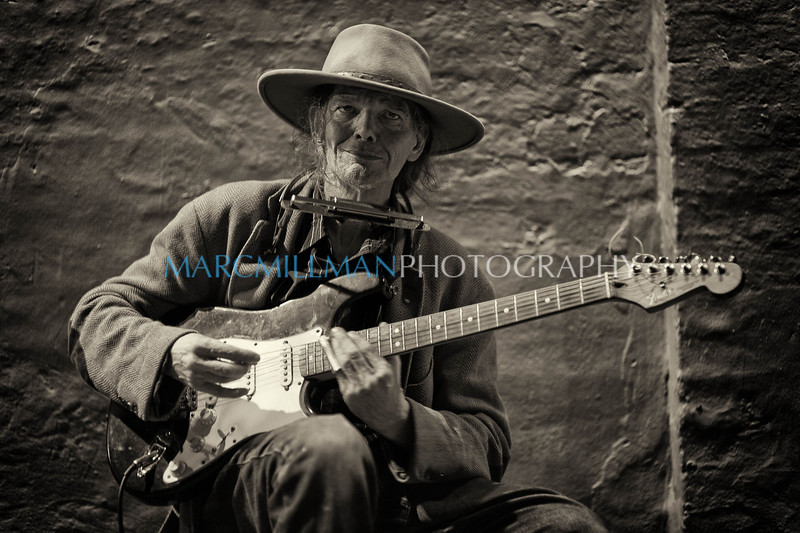 Blind Boy Roy <br /> <br /> Corner of Toulouse & Royal (Sat 5/7/11)