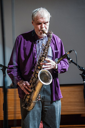 A few more shots of Knute Jensen blowing his sax.