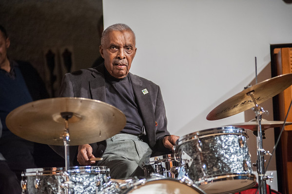 """Maurice Lyle, aka """"Brother Maurice,"""" sat in for several tunes."""