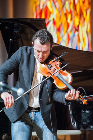 Sigalov's physicality is as much a joy to watch as his music is to hear.